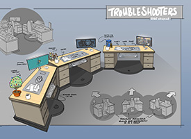 Troubleshooters Ride Vehicle